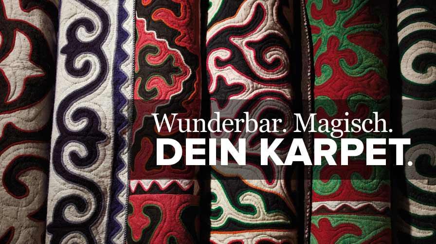 karpet - Kirgisische Filzteppiche