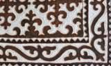 Caarcik - kirgisischer Filzteppich