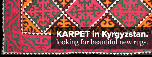 karpet on the road